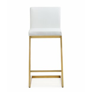 Brace Steel 26 Bar Stool (Set of 2) by Orren Ellis