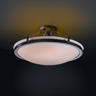 Mistana Thora Transitional 6-Light Semi Flush Mount