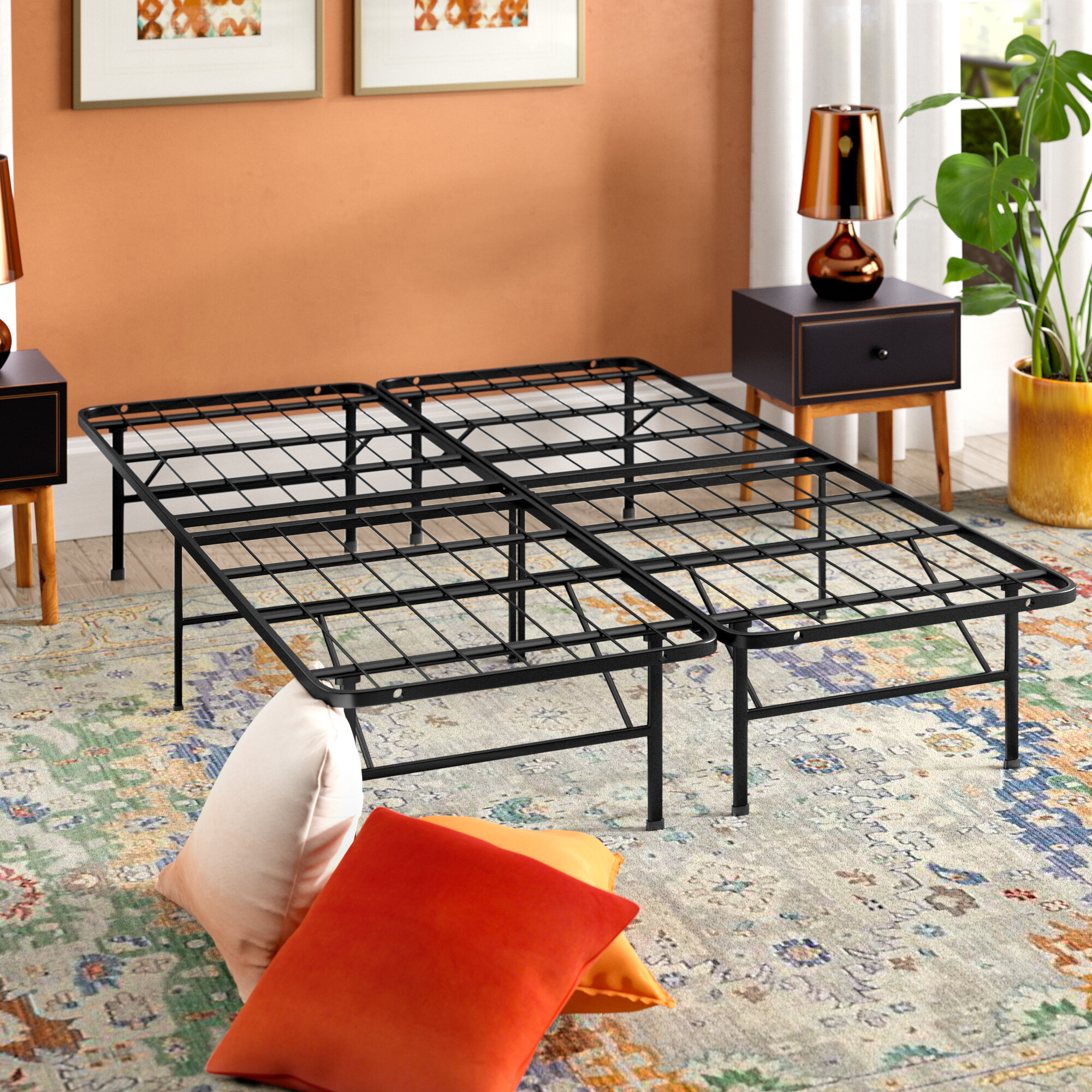 Alwyn home innovative bed frame reviews wayfair solutioingenieria Image collections