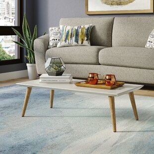 Best Reviews Lemington Rectangle Coffee Table with Splayed Legs ByGeorge Oliver