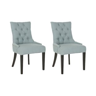 Crutcher Upholstered Dining Chair (Set Of 2) By Rosalind Wheeler
