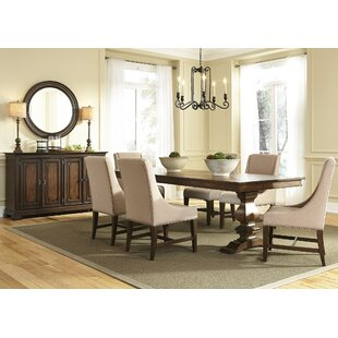 Knight 7 Piece Solid Wood Dining Set