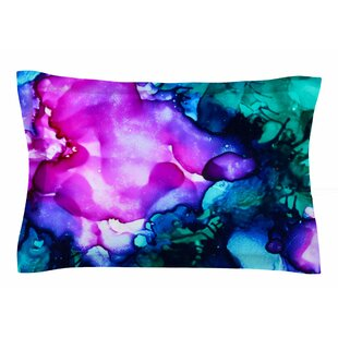 Claire Day 'Nebula' Abstract Painting Sham