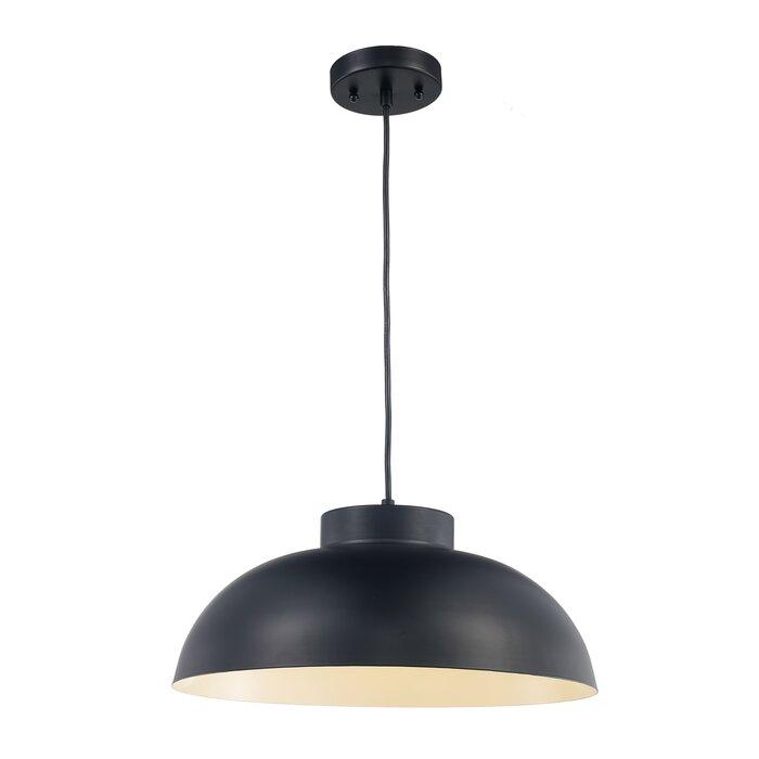 low priced c29c1 b0c3e Lowes 1-Light Single Dome Pendant