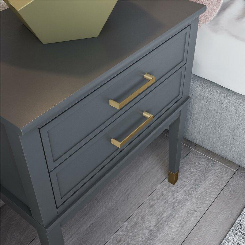 e94e3a59 Westerleigh 1 Drawer Nightstand & Reviews | AllModern