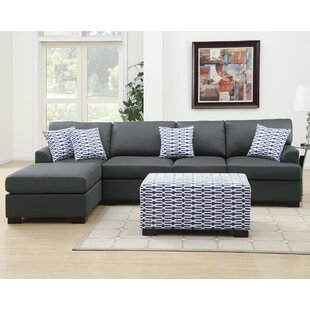 Marengo Reversible Sectional with Ottoman