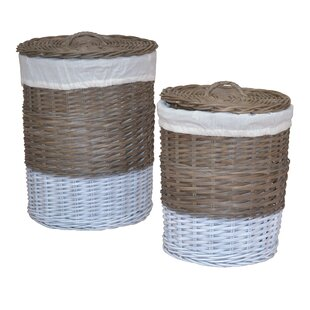 Laundry Basket Set By Beachcrest Home