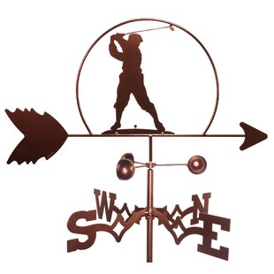 Golfer Male Golf PGA Weathervane By SWEN Products