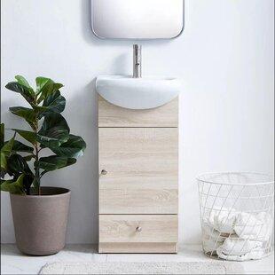 Ajitesh 18 W x 3402 H x 984 D FreeStanding Bathroom Cabinet by Latitude Run
