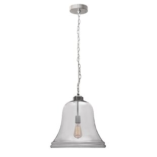 Bastogne 1-Light Bell Pendant by August Grove