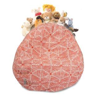 Christman Stuffed Animal Toy Storage Bean Bag Chair ByEbern Designs