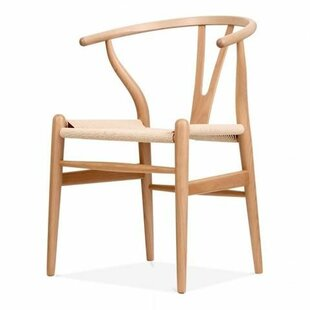 Bynum Mid-Century Solid Wood Dining Chair by Bungalow Rose Amazing