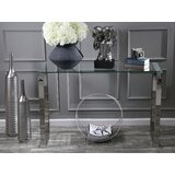 Glass Console Table by Sagebrook Home