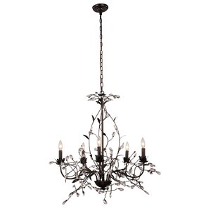 Ramsey 5-Light Crystal Chandelier
