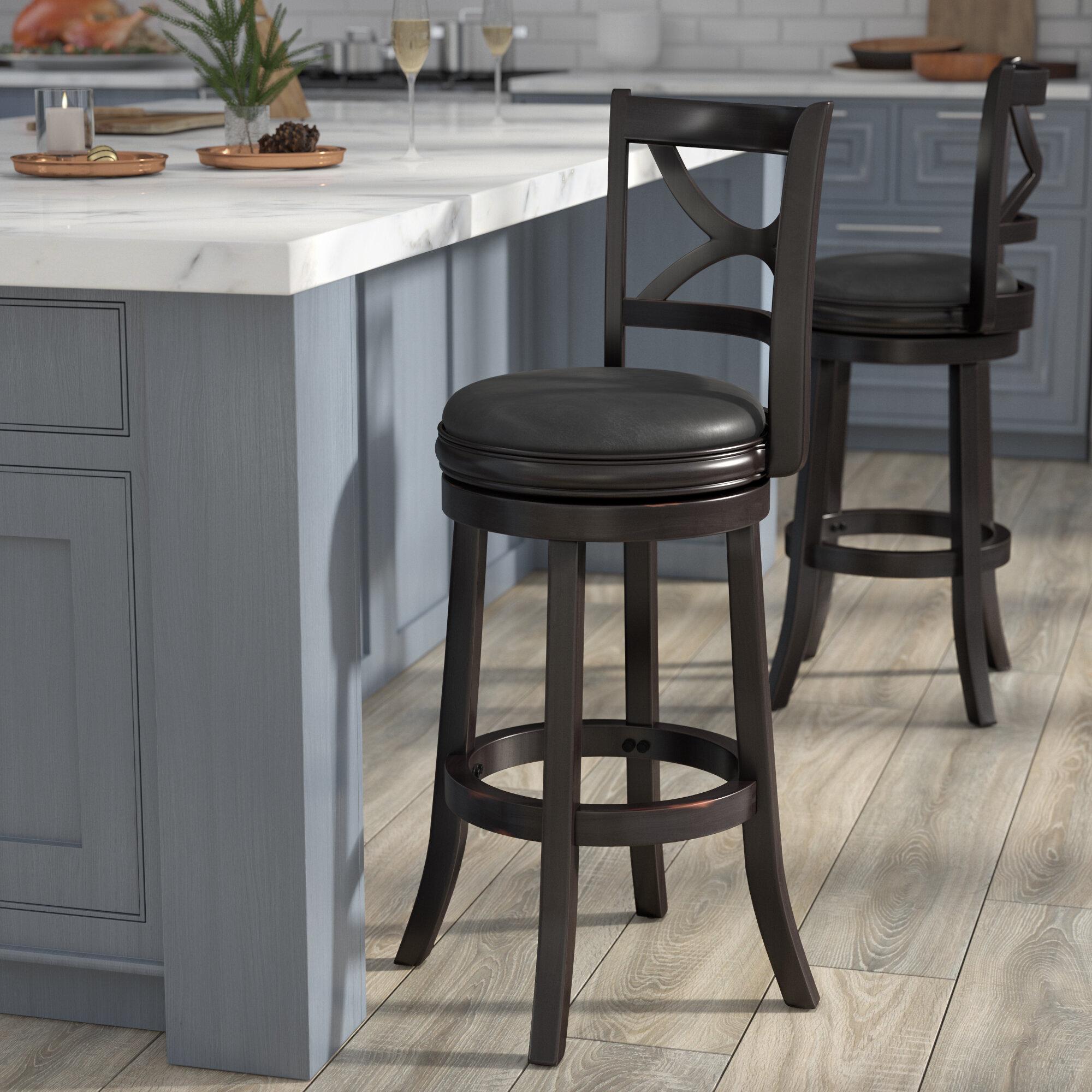 Démonter Un Tabouret De Bar severn swivel bar & counter stool