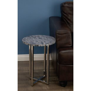 Choate Polystone Round End Table