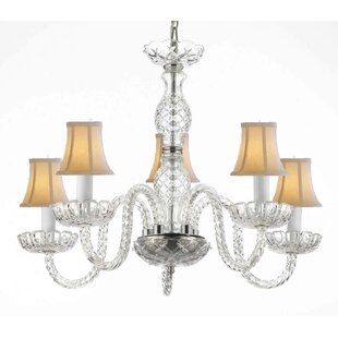 Bowerville 5-Light Shaded Chandelier by Rosdorf Park