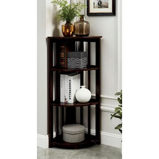 Crabill Corner Unit Bookcase by Winston Porter
