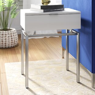 Harva End Table with Storage b..