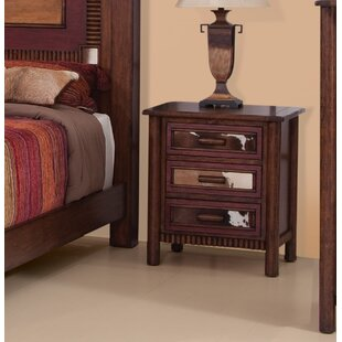 Loon Peak Mosely 3 Drawer Nighstand