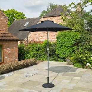 Hamrick 2.25m Traditional Parasol By Sol 72 Outdoor