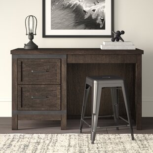 Sallie Double Barn Door 50 W Computer Desk by Greyleigh