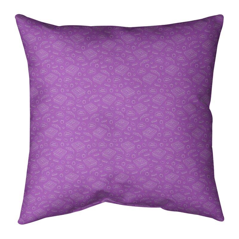 Katelyn Elizabeth Pizza Square Pillow Cover & Insert