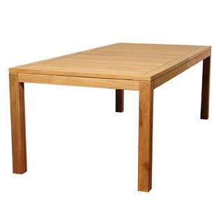 Brighton Rectangle Teak Wood Dining Table