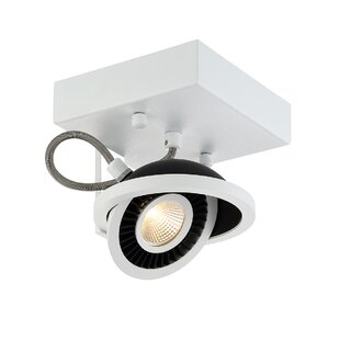Vision 1-Light Semi Flush Mount by Eurofase