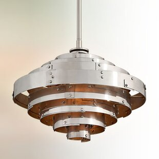 17 Stories Melita 1-Light Bowl Pendant