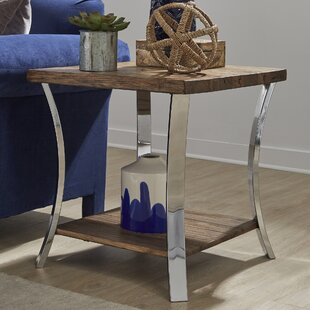 Comparison Juniata End Table by Gracie Oaks