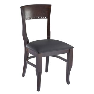 Tymon Dining Chair in Faux Leather (Set o..