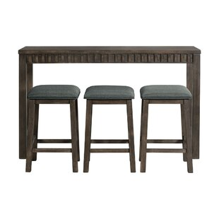 Panola 4 Piece Pub Table Set