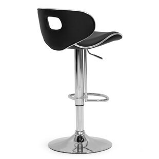 Adjustable Height Swivel Swivel Bar Stool (Set of 2) Glamour Home Decor