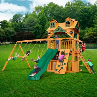 Gorilla Playsets Chateau Clubhouse Swing Set