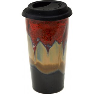 Bannan Dreamsicle Glaze 15 oz. Double Walled Tall Travel Mug