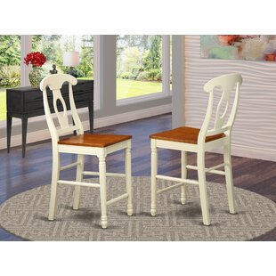 Aimee Bar Stool Set of 2 by August Grove