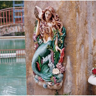 Melody's Cove Mermaid Wall Décor By Design Toscano