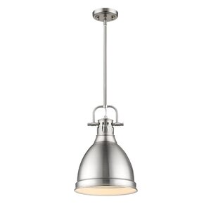 Bodalla 1-Light Metal Mini Pendant