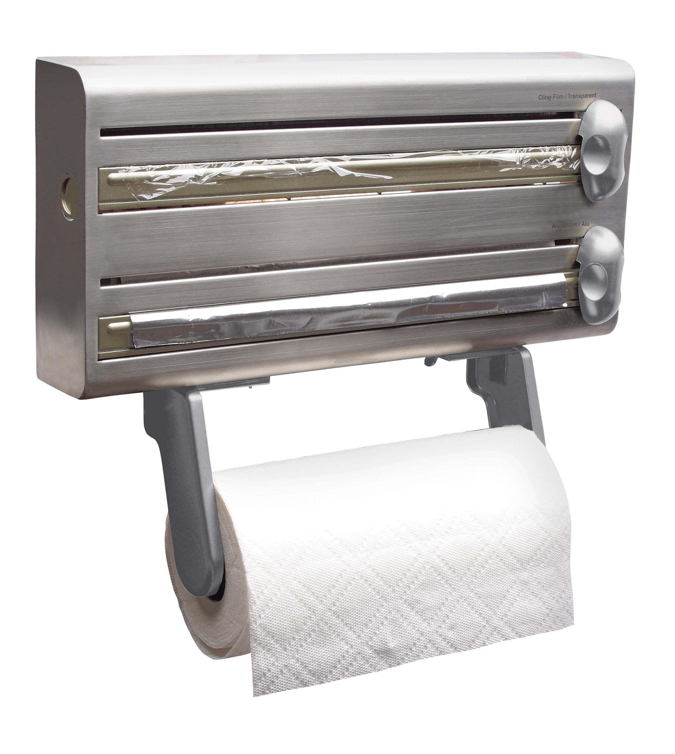KitchenCraft Master Class Wall Mounted Foil Dispenser & Reviews ...