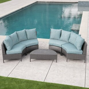 Brownfield 5 Piece Sectional Set with Cushions