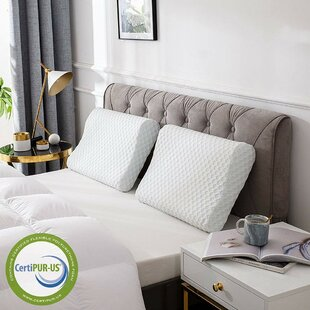 Cr Sleep Memory Foam Standard Pillow ByComfort & Relax