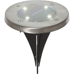 Liddle 4 Light LED Well Lights (Set Of 3) (Set Of 3) By Sol 72 Outdoor