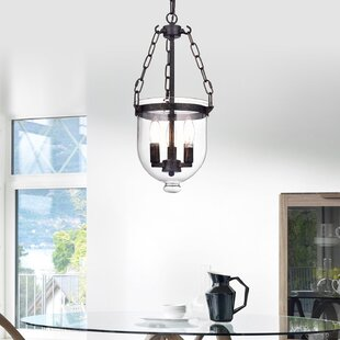 Gracie Oaks Liao 3-Light Urn Pendant