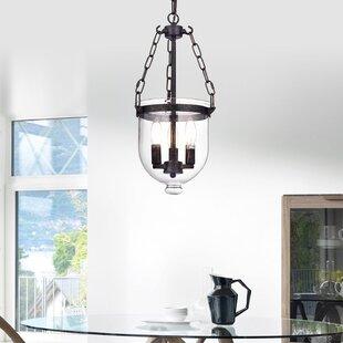 Gracie Oaks Liao 3-Light Urn Pendant