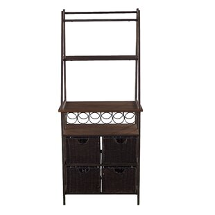 Gracie Oaks Hirsch Iron Baker's Rack