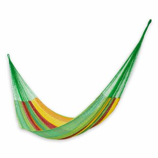 Novica Colima Cotton Tree Hammock