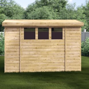 Camas 3 Ft. W X 14 Ft. D Shiplap Pent Wooden Shed By Union Rustic