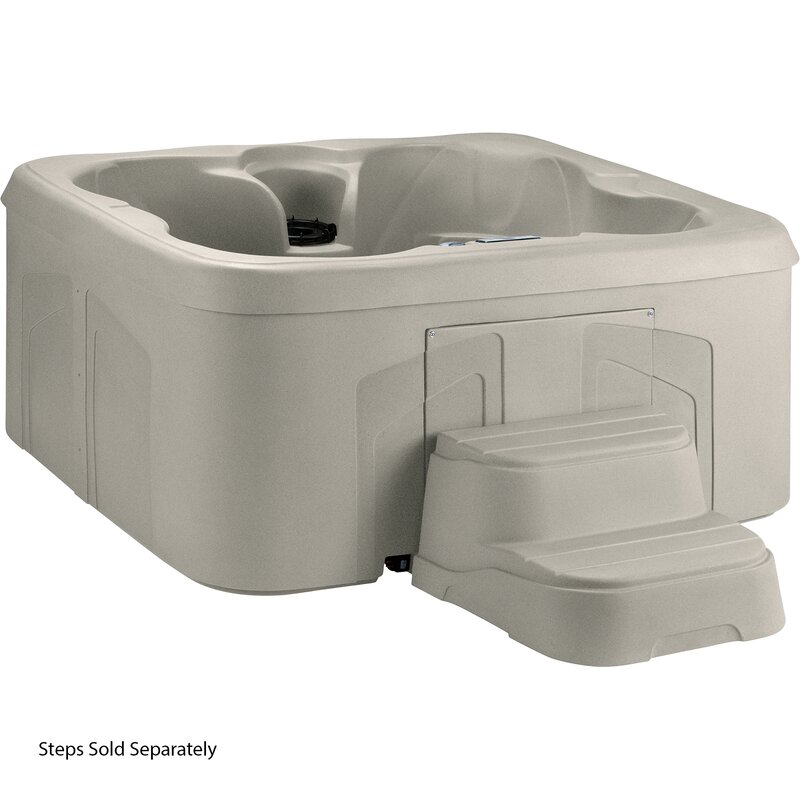 Rock Solid Simplicity 4-Person 13-Jet Plug and Play Spa