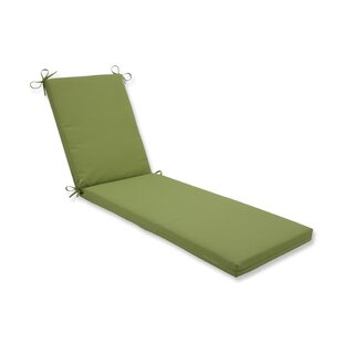 Elinor Colefax Pesto Indoor/Outdoor Chaise Lounge Cushion By Bay Isle Home